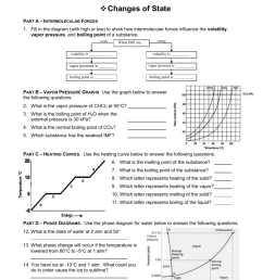 fill in the diagram with high or low to show how intermolecular forces influence the volatility vapor pressure  [ 791 x 1024 Pixel ]