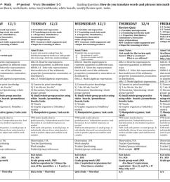 Teacher/Subject: 6th Math 4th period Week: December 1 [ 791 x 1024 Pixel ]