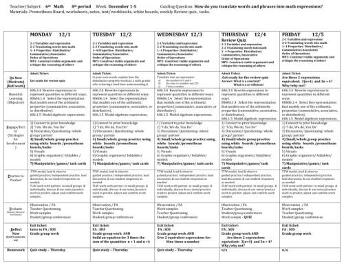 small resolution of Teacher/Subject: 6th Math 4th period Week: December 1