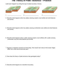 Label Plate Tectonics Worksheet   Printable Worksheets and Activities for  Teachers [ 1651 x 1275 Pixel ]