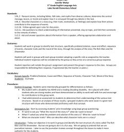 Lesson Plan Jennifer Mahar 3rd Grade English [ 1024 x 791 Pixel ]