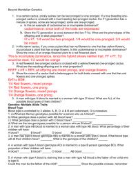 Best Of Mendel Genetics Worksheet with Answers | goodsnyc.com