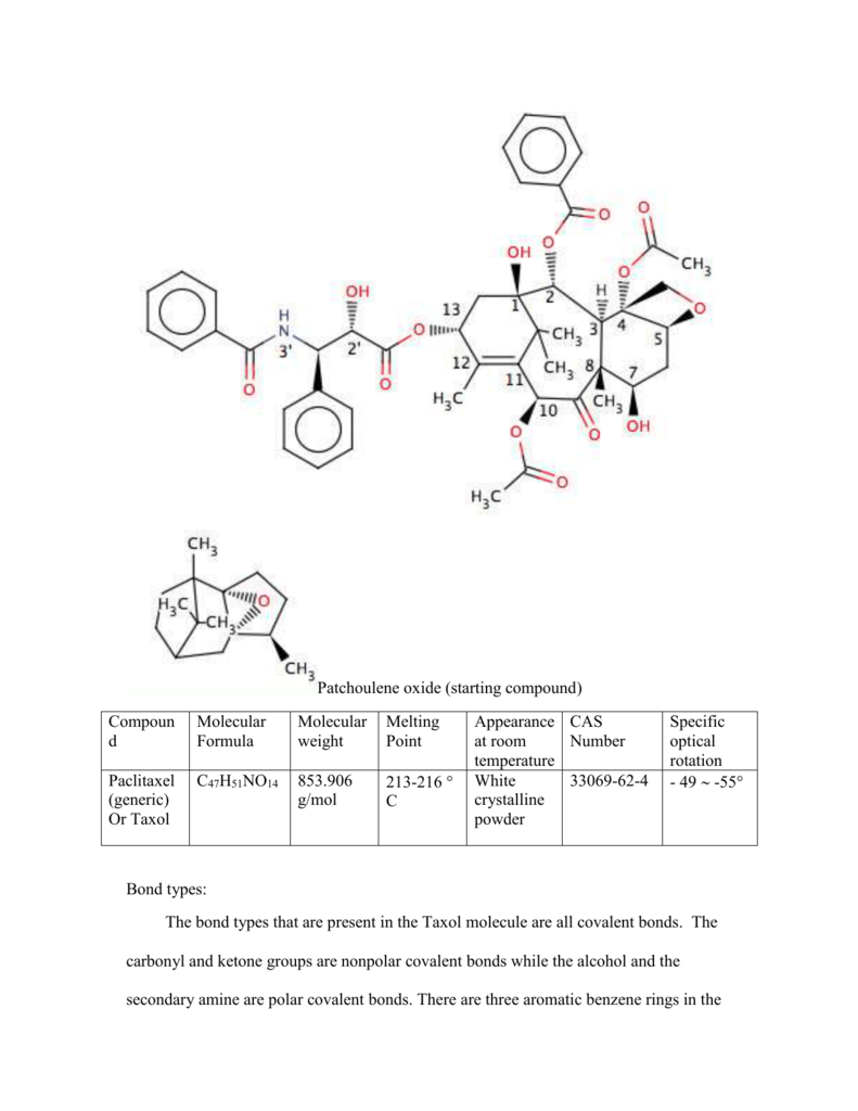 The chemistry of taxol