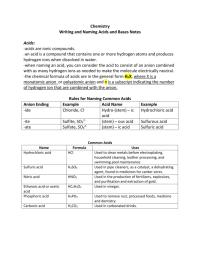 Worksheets. Naming Acids Worksheet. waytoohuman Free ...