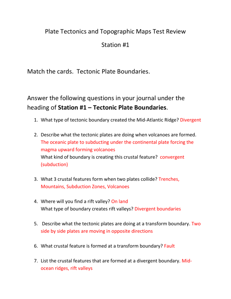 hight resolution of 30 Volcanoes And Plate Tectonics Worksheet Answers - Worksheet Resource  Plans
