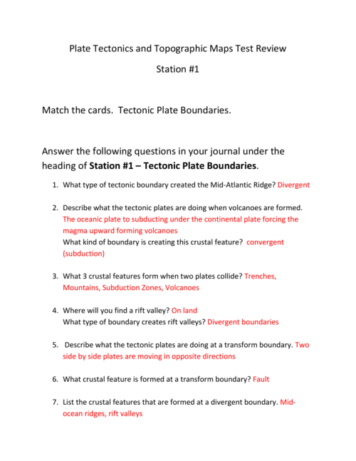 small resolution of 30 Volcanoes And Plate Tectonics Worksheet Answers - Worksheet Resource  Plans