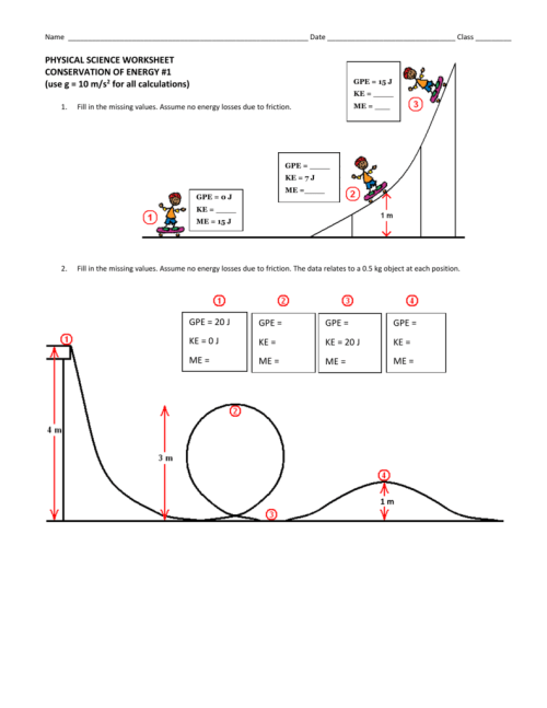 small resolution of 35 Conservation Of Energy Worksheet - Worksheet Resource Plans