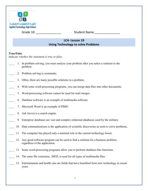 small resolution of CIT-G10-LC4-Lesson19-Worksheet-Week 9-SaharEljamal - ICT-IAT