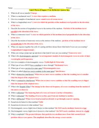 worksheet. Waves & Electromagnetic Spectrum Worksheet