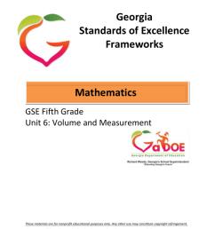 5-Math-Unit-6 - Georgia Mathematics Educator Forum: Grades [ 1024 x 791 Pixel ]