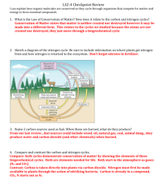 ls2 4 checkpoint review i can explain how organic molecules are conserved as they cycle through organisms that compete for matter and energy to form  [ 791 x 1024 Pixel ]
