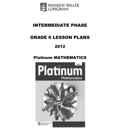platinum lesson plans – grade 6 [ 1024 x 791 Pixel ]