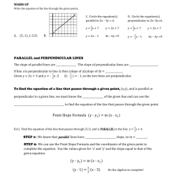Writing Equations Of Parallel And Perpendicular Lines Worksheet -  Promotiontablecovers [ 1024 x 791 Pixel ]