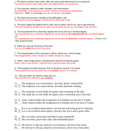 34 Parallel Structure Worksheet With Answers - Worksheet Resource Plans [ 1024 x 791 Pixel ]
