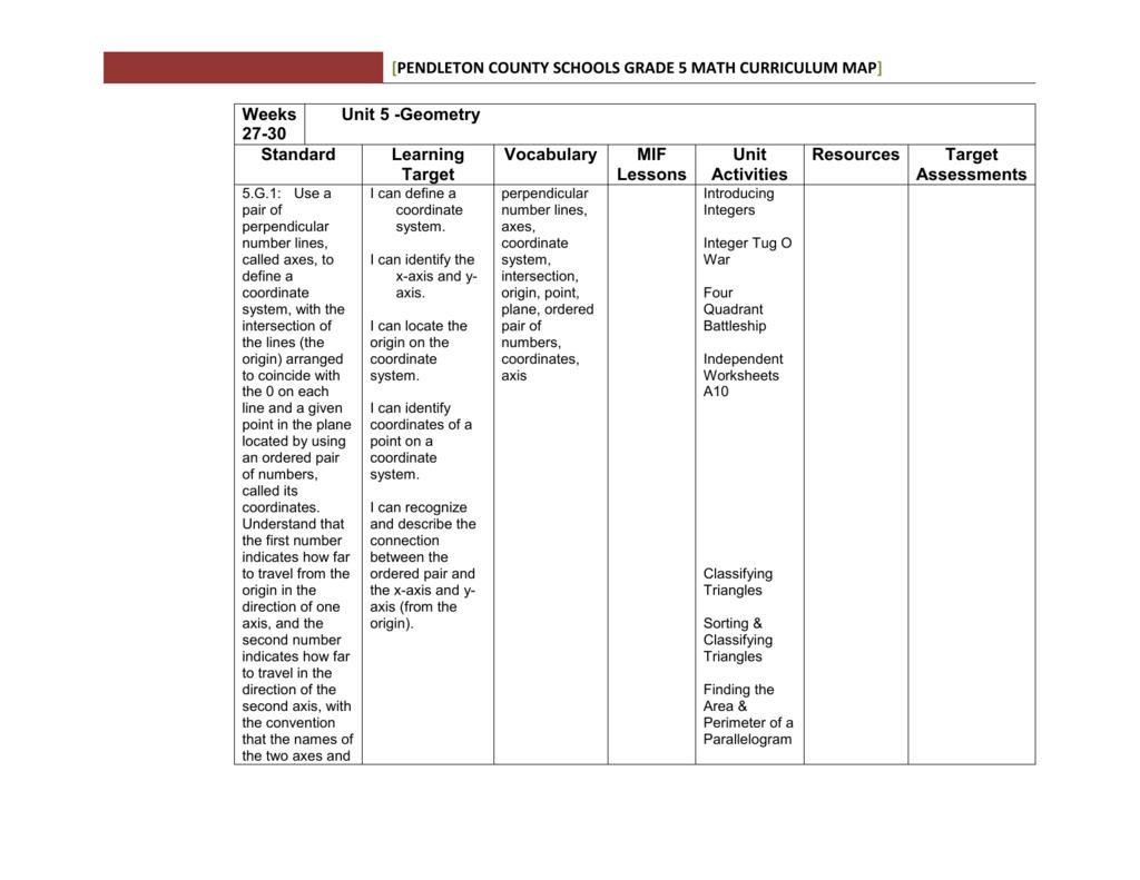 hight resolution of Grade 4 Unit 5 Math - Pendleton County Schools