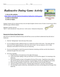 Radiometric Dating Worksheet. Worksheets. Ratchasima ...