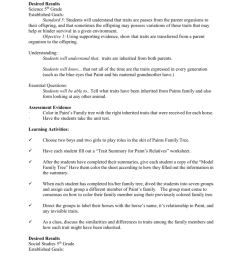 Desired Results Science 5th Grade Established Goals: Standard 5 [ 1024 x 791 Pixel ]