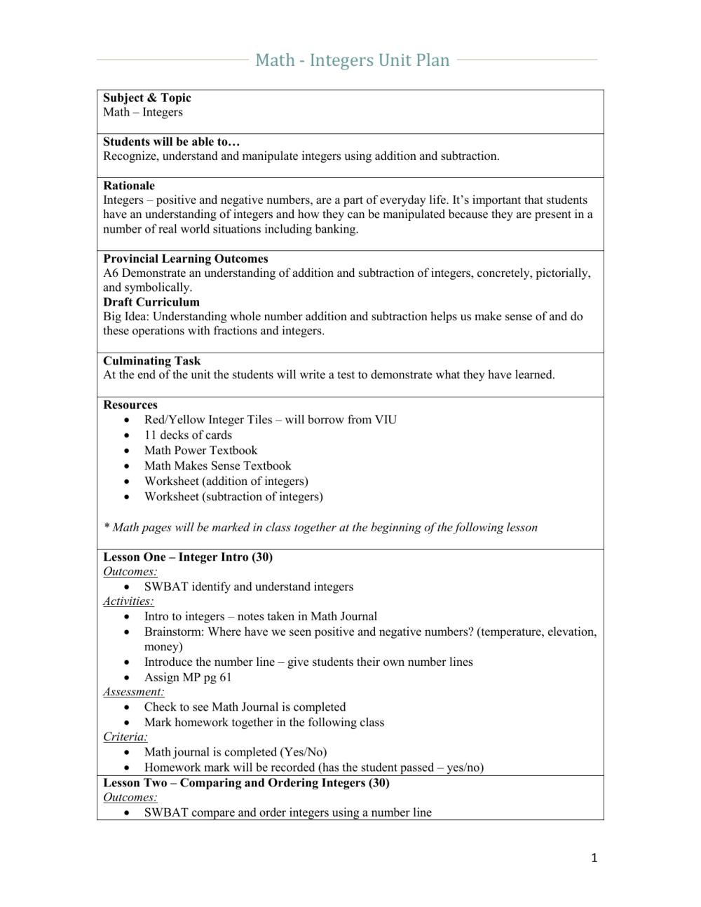 medium resolution of Add Integers Worksheet   Printable Worksheets and Activities for Teachers