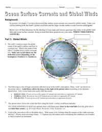 Worksheets. Global Winds Worksheet. waytoohuman Free ...