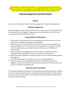 also model employee engagement committee charter rh studylib