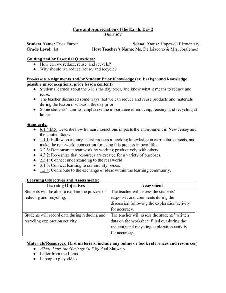 medium resolution of Science Lesson