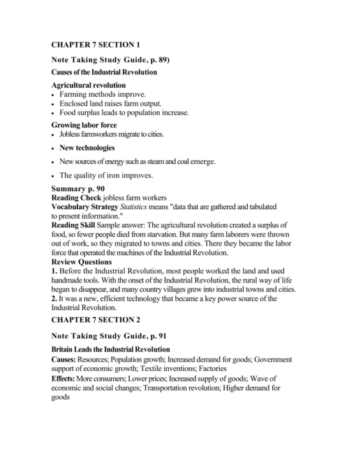 small resolution of 30 The Growth Of Industry Worksheet Answers - Worksheet Resource Plans