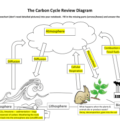 carbon cycle diagram fill in [ 1024 x 791 Pixel ]