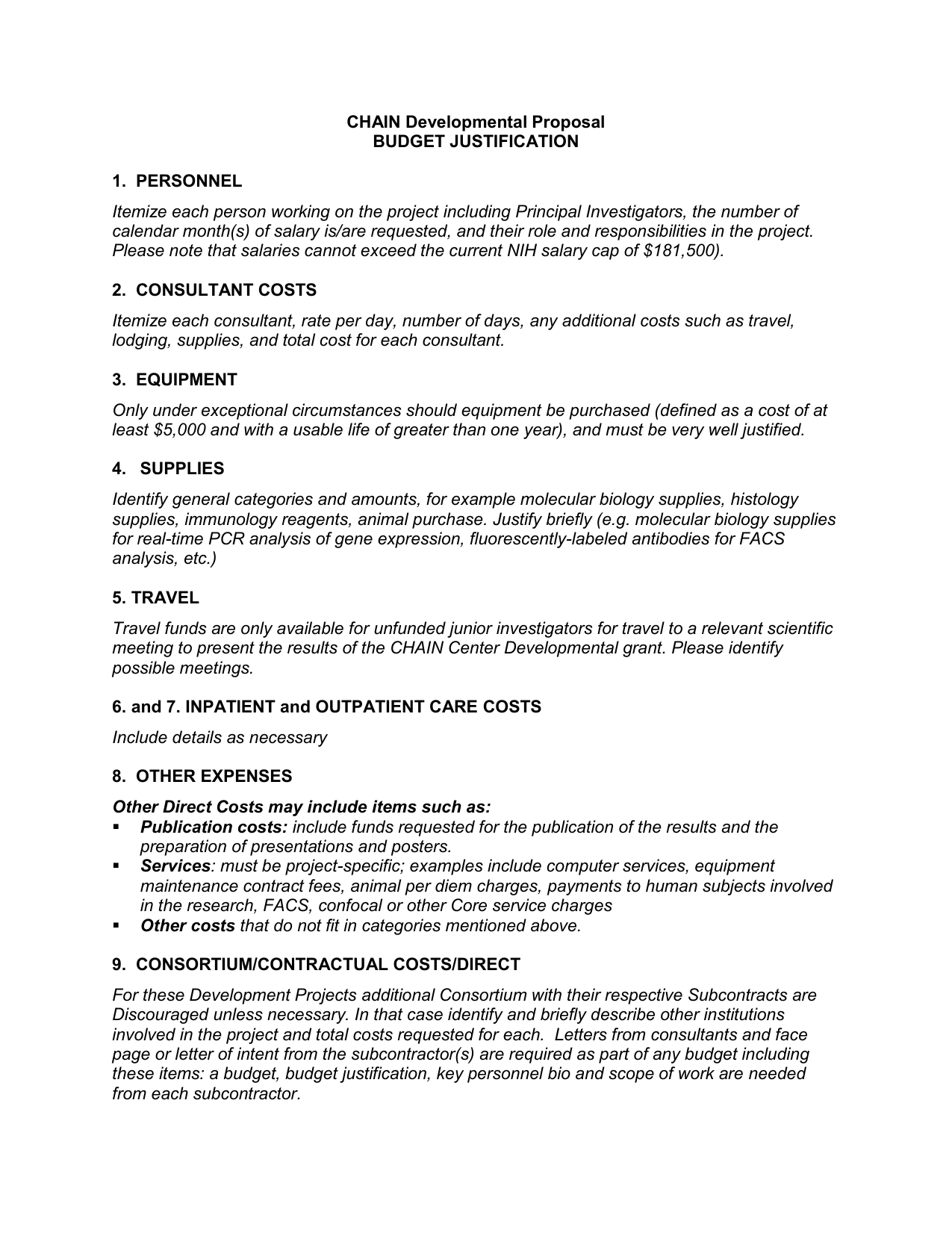 Inspirationa Travel Justification Letter Example - Resume