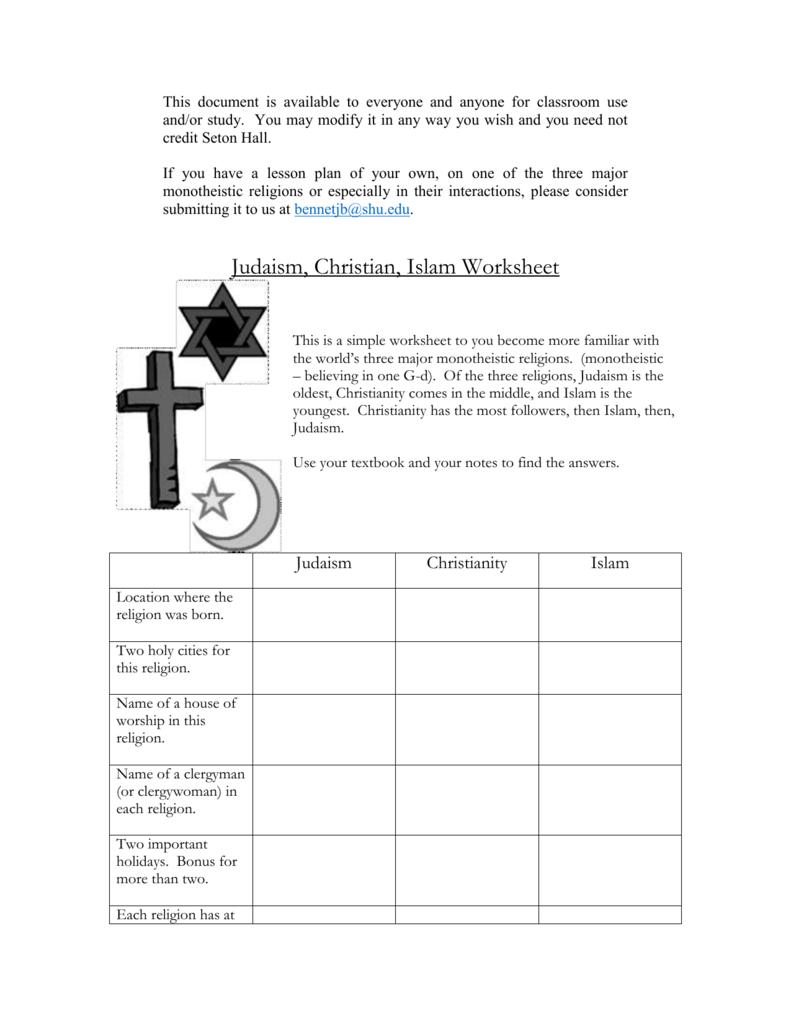 hight resolution of 31 The Origins Of Judaism Worksheet Answers - Free Worksheet Spreadsheet