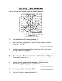 worksheet. Solubility Graph Worksheet Answers. Worksheet ...