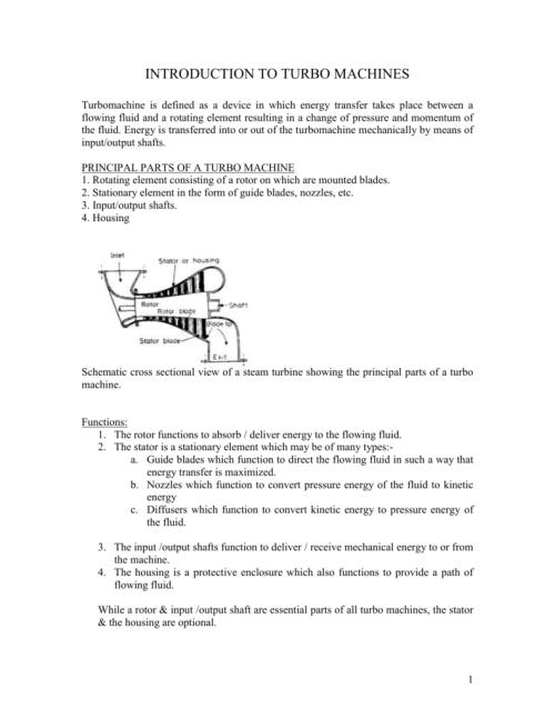 small resolution of velocity diagram of franci turbine