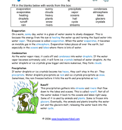 28 Water Cycle Worksheet Fill In The Blank - Worksheet Project List [ 1024 x 791 Pixel ]
