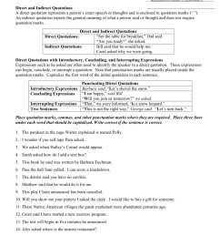 32 Quotation Marks Worksheet 1 Answers - Worksheet Project List [ 1024 x 791 Pixel ]