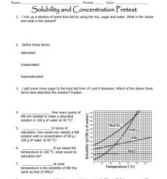 Solubility Pre Test Answer Key [ 1024 x 791 Pixel ]