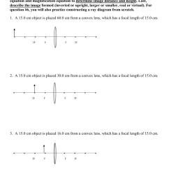 Light Ray Diagram Worksheets 1997 Ford F 150 Starter Lenses Worksheet Pdf - Kidz Activities