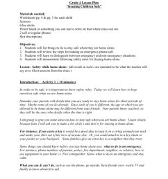 Grade 4 Lesson Plan [ 1024 x 791 Pixel ]
