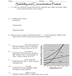 Solubility and Concentration Review [ 1024 x 791 Pixel ]