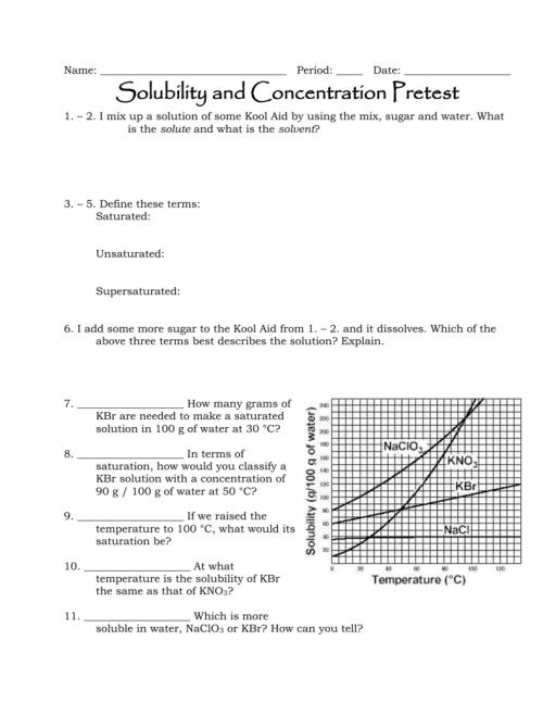 small resolution of Solubility and Concentration Review