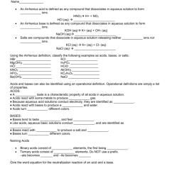 Chemistry Acids And Bases Worksheet - Nidecmege [ 1024 x 791 Pixel ]