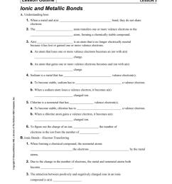Lesson 3   Ionic and Metallic Bonds [ 1024 x 791 Pixel ]
