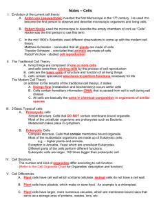 also notes cells rh studylib