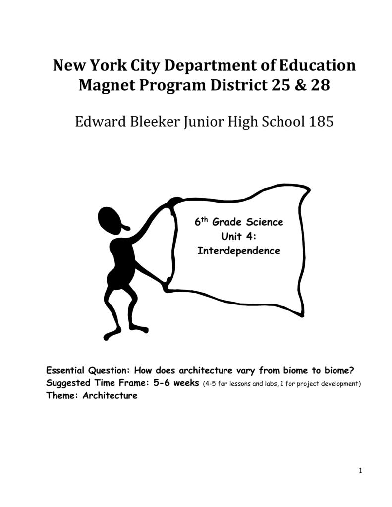 medium resolution of Interdependence - JHS 185 Edward Bleeker ASPIRES Magnet School