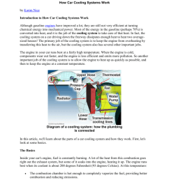 http auto howstuffworks com cooling system htm how car cooling systems work by karim nice introduction to how car cooling systems work although gasoline  [ 791 x 1024 Pixel ]