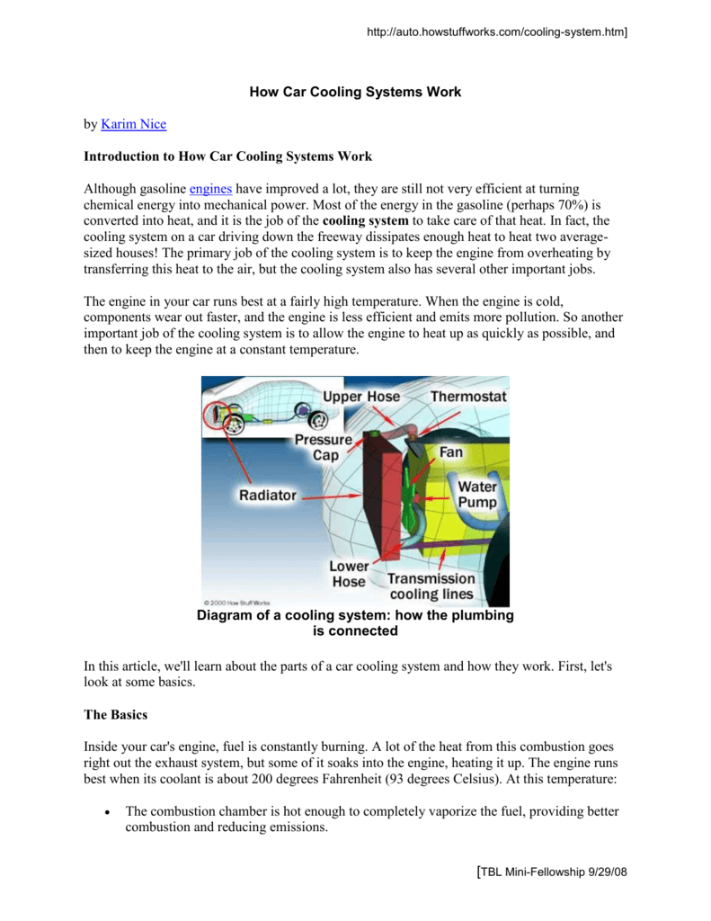 hight resolution of http auto howstuffworks com cooling system htm how car cooling systems work by karim nice introduction to how car cooling systems work although gasoline