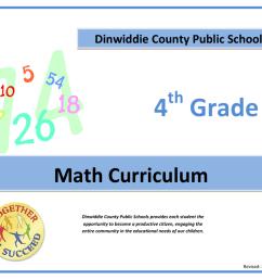 4 Grade - Dinwiddie County Public Schools [ 791 x 1024 Pixel ]