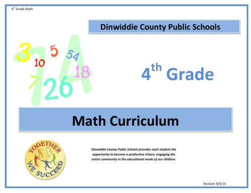 small resolution of 4 Grade - Dinwiddie County Public Schools