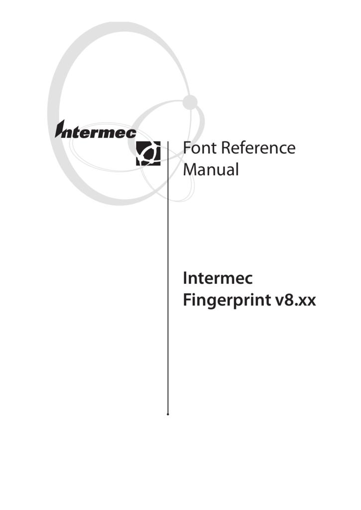 INTERMEC FINGERPRINT MANUAL PDF