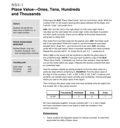 NS4-1 Place Value—Ones [ 1024 x 791 Pixel ]