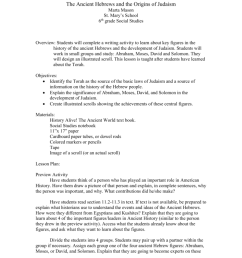 The Ancient Hebrews and the Origins of Judaism.doc [ 1024 x 791 Pixel ]