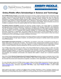 WORLDWIDE FOCUS Embry Riddle Alumni Association
